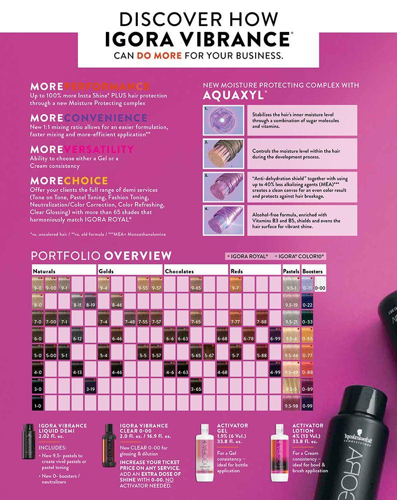Coming In June New Igora Vibrance Maka Schwarzkopf Hair Color Chart Hair Color Formulas Hair Color