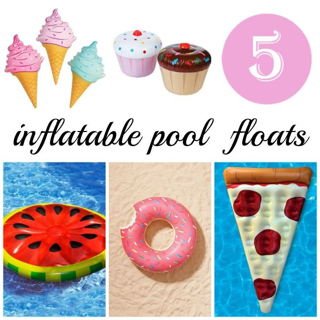 Floating Food Ideas: Food Pool Floats And Pool Floats