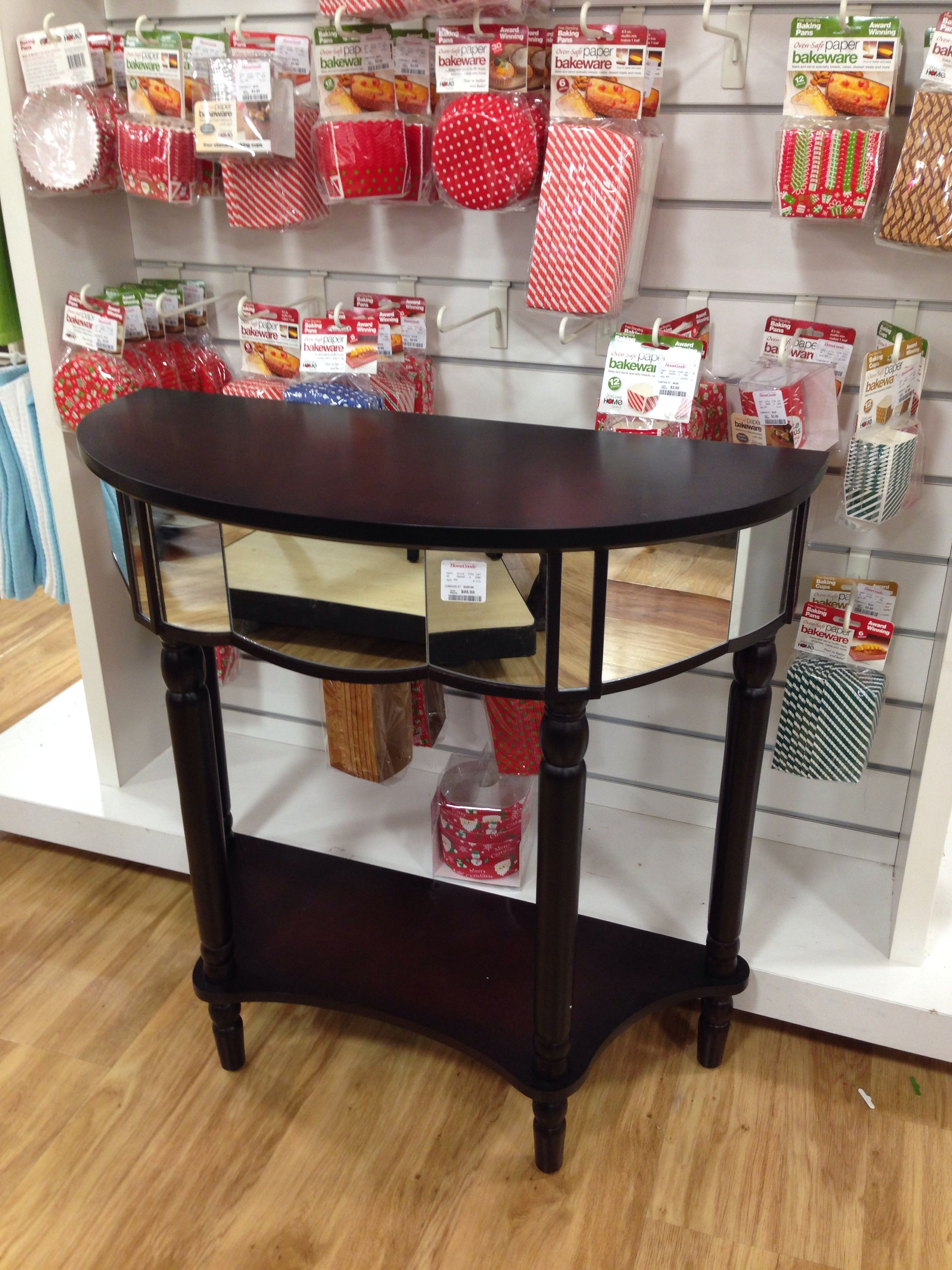 Console table home goods store decor decor design