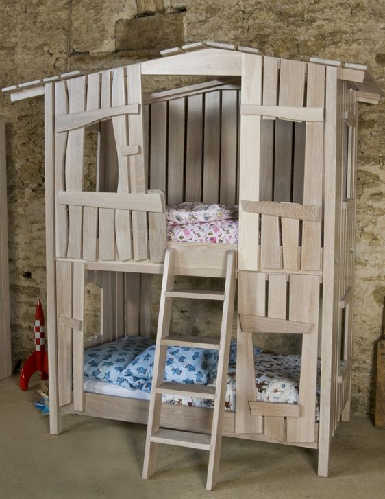the tree house bunk bed   girly rooms   pinterest   bunk bed and