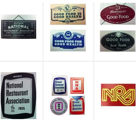 Nieuw #logo voor NRA, en daarbij leuk overzicht logo's door de jaren heen, vanaf 1919