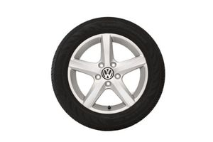 16 Inch Aspen Winter Wheel Brilliant Silver Wheel Volkswagen Silver