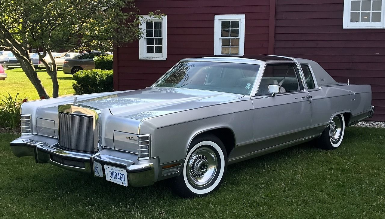 1978 Lincoln Continental Town Coupe: With Fixed Glass