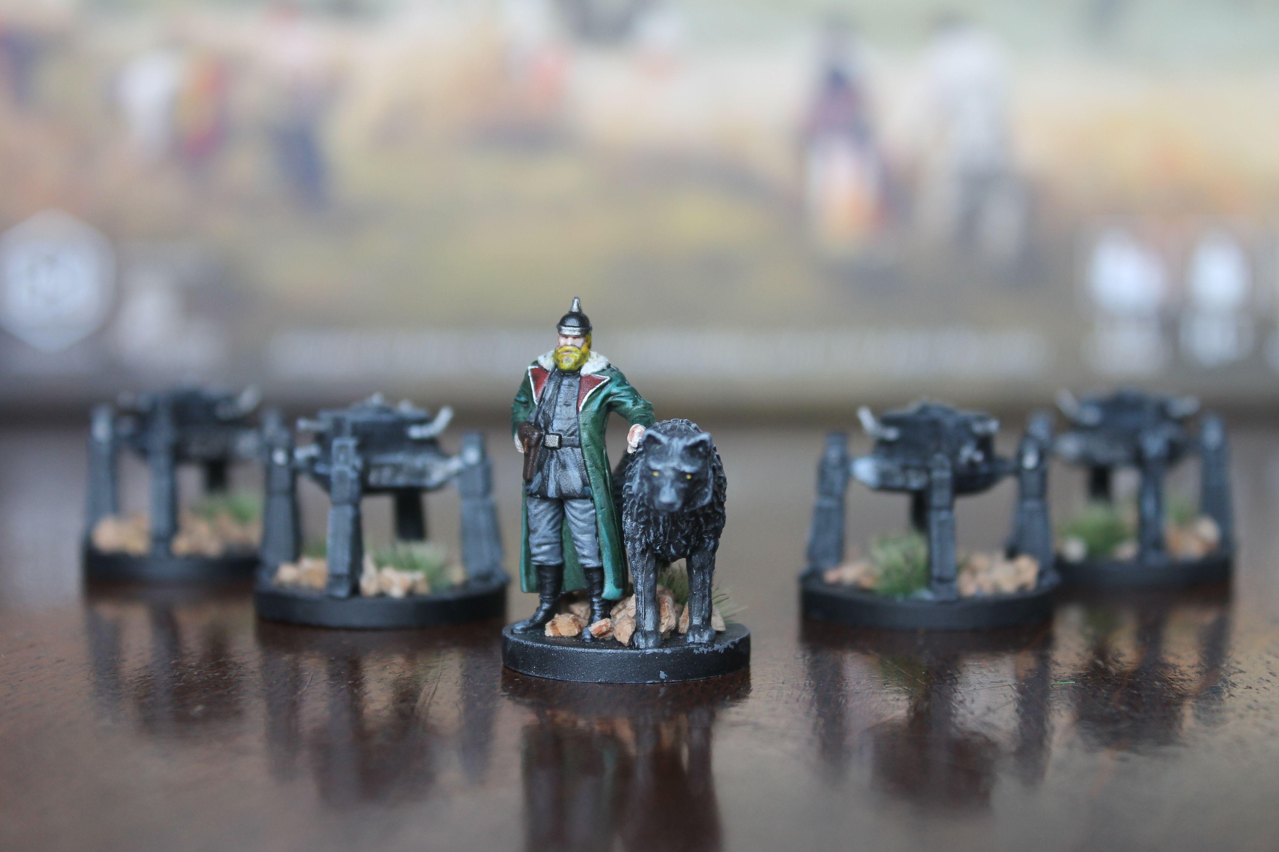 Scythe Painted Miniatures (Saxony Empire) Miniatures