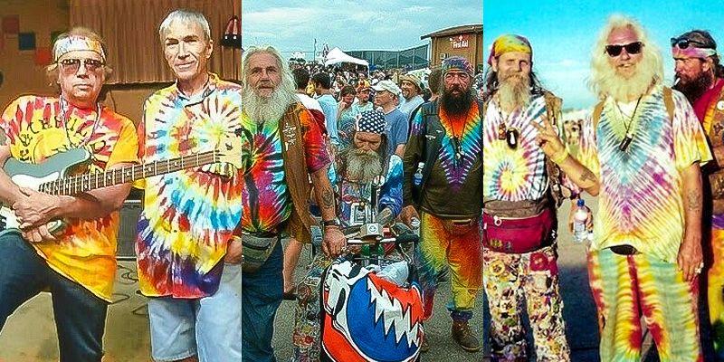 Old Tie-Dye Fashion