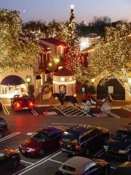 Highland Park Mall Dallas TX Christmas Pinterest - First shopping center in usa