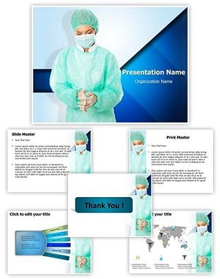 Surgeon PowerPoint Presentation Template is one of the best - it powerpoint template