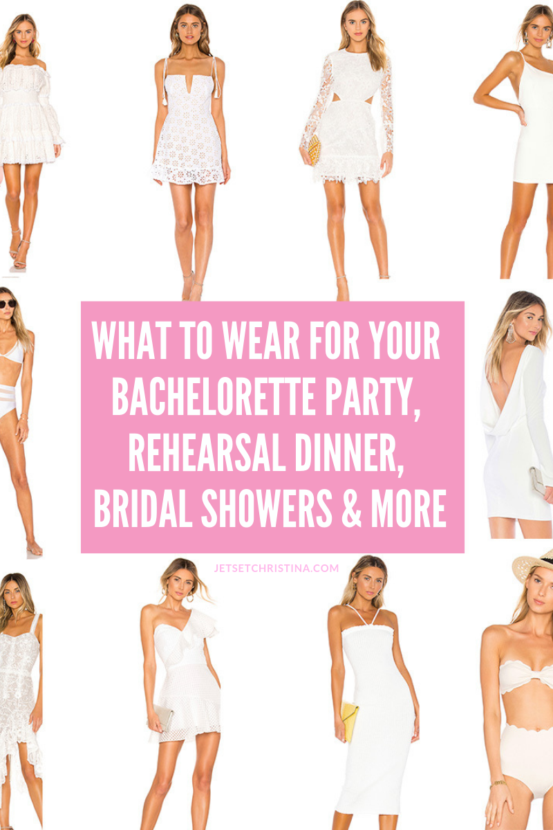 The Perfect White Outfits Every Bride-to-Be Needs for Every Event