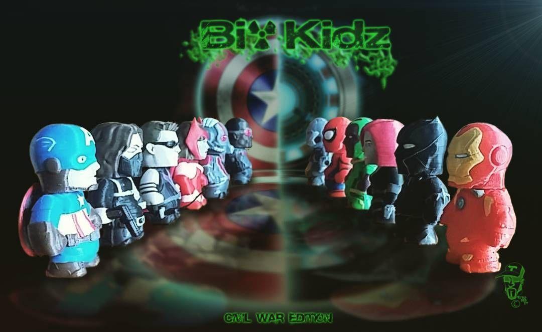 Biokidz Civil War Edition by titodidit
