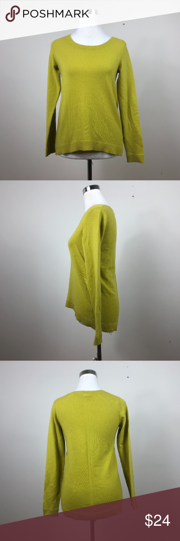Neiman Marcus Cashmere Collection Sweater Neiman Marcus Cashmere Collection Sweater Normal Wear No Rips Or Stains Is A Yellow G Sweaters Cashmere Collection
