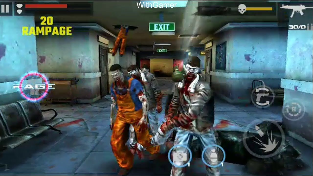 Dead target offline zombie shooting android gameplay 1
