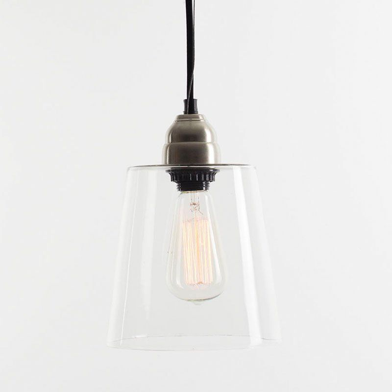 Kalalou NNL1003 Electric Pendant Lamp with Glass Shade | from hayneedle.com