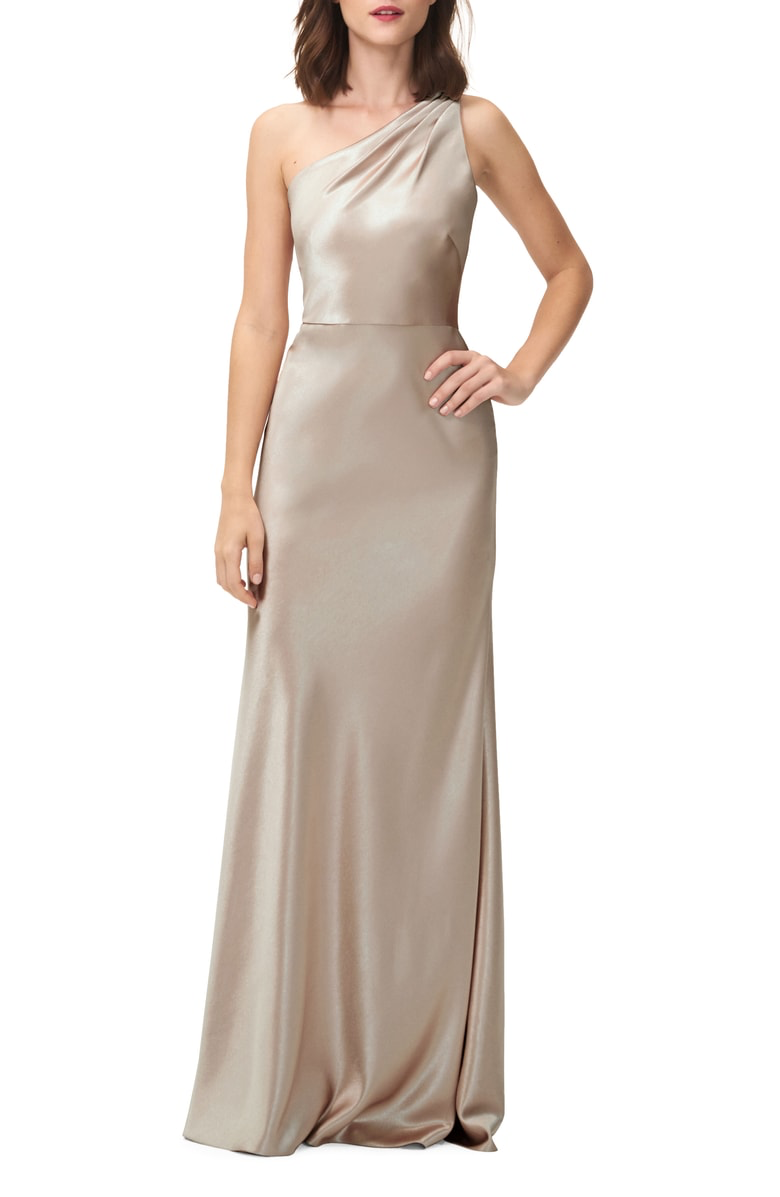 Pin by ali leone on bridesmaids pinterest satin gown satin and