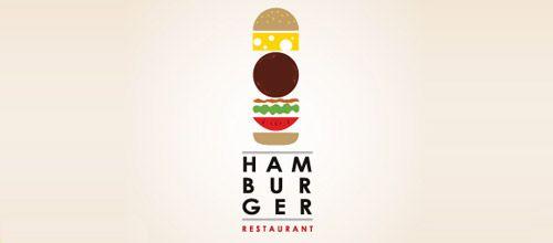 hamburger logo design