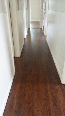 Beautiful Wood Floor Color Oak Hallway Coffee Brown Stain Yelp