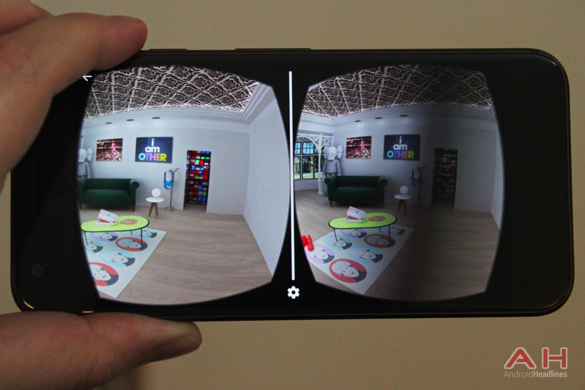 New social virtual reality app in the Google Play store