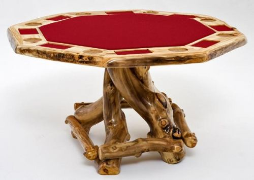 Rustic Game Table   Poker Table