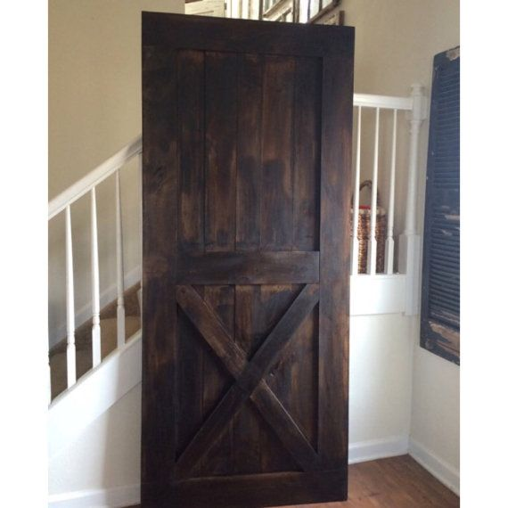 Tall Standard Handmade Barn Wood Door For Bathrooms And Etsy In 2020 Barn Wood Projects Barn Wood Reclaimed Wood Projects Furniture
