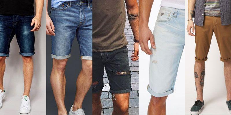 men's cigarette shorts trend