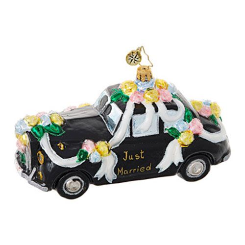 Christopher Radko Bridal & Wedding Ornaments - FREE SHIPPING