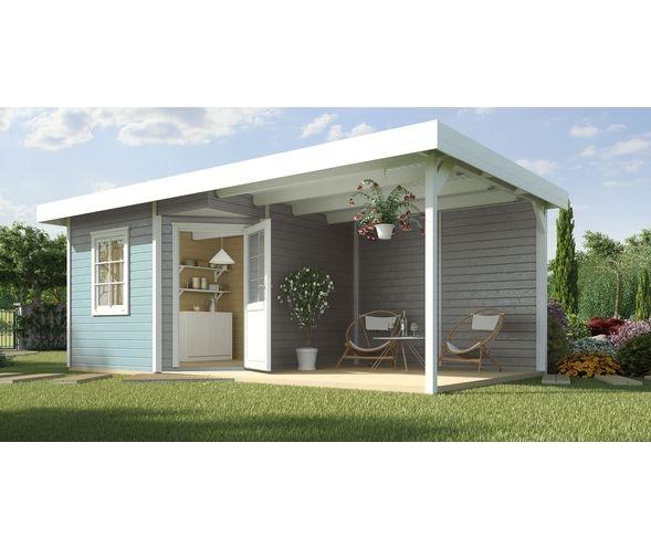 weka Designhaus 213 Achtertuin schuurtjes, Huis en tuin