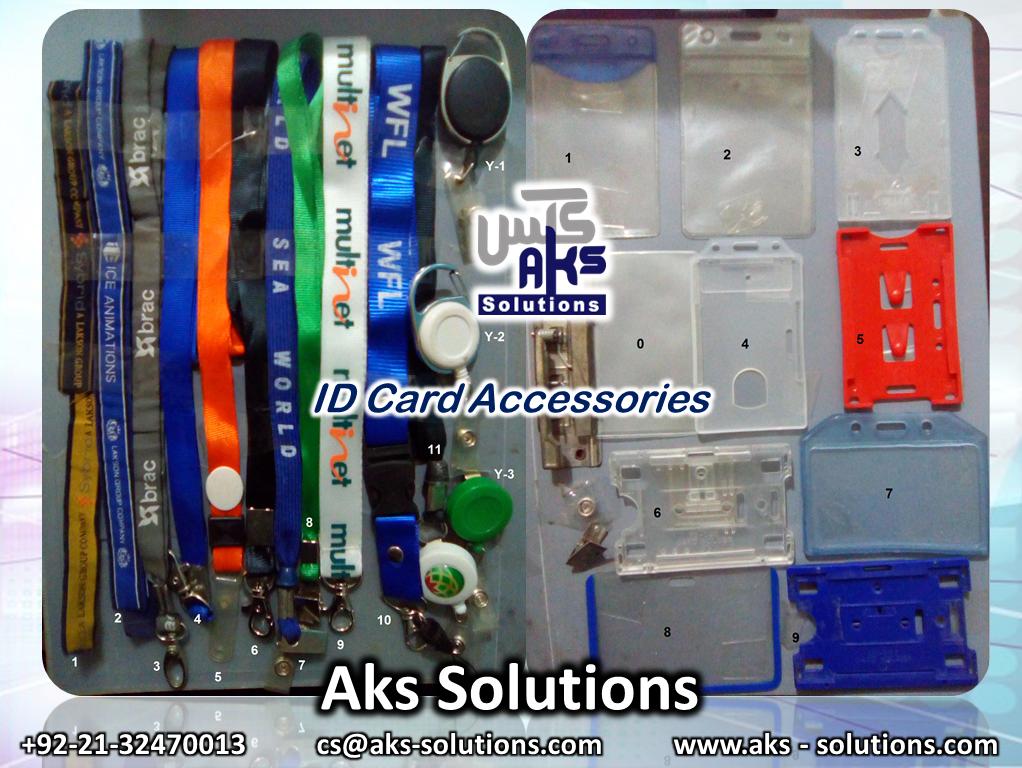 Id Card Accessories Lanyard Neck Ribbon Yoyo Id Card
