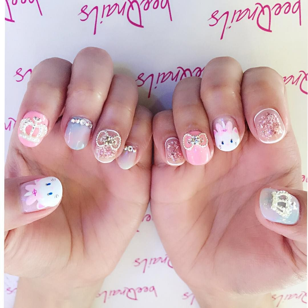 The Aristocats Marie for Magdalene Tan\'s Korea Holiday nails , how ...