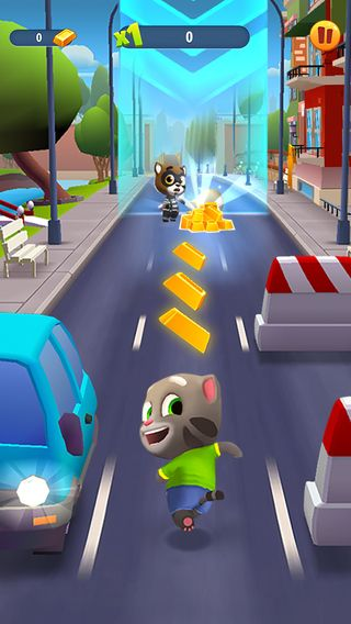 iPhone Screenshot 5 Talking tom, Going for gold, Toms