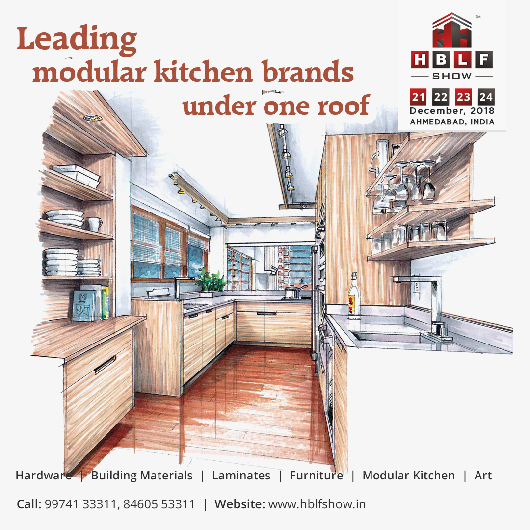 Every year, HBLF Show hosts leading modular kitchen brands