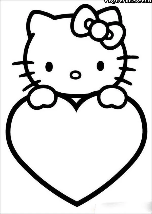 Valentines Day Preschool 500 Amazing Valentines Day Colouring Pages To Print Valentines Day Color In 2020 Kitty Coloring Valentine Coloring Pages Hello Kitty Coloring