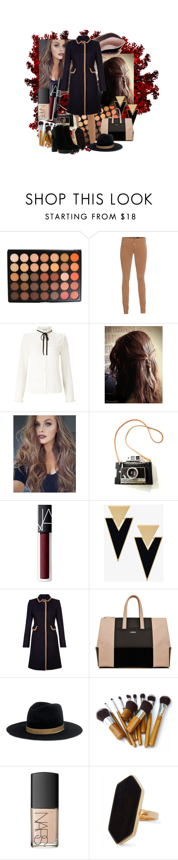 """""""Autumn"""" by arts22 on Polyvore featuring Mode, Morphe, AG Adriano Goldschmied, Lipsy, Christian Dior, NARS Cosmetics, Yves Saint Laurent, Hobbs, Janessa Leone und Jaeger"""