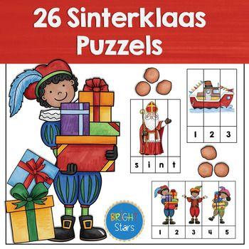 26 sinterklaas puzzels bright kindergarten