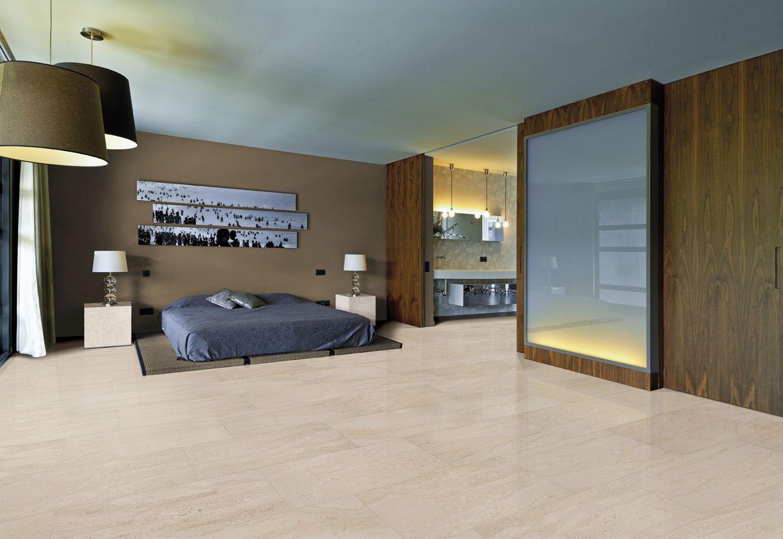 Piastrella per pavimenti in gres porcellanato aspetto marmo