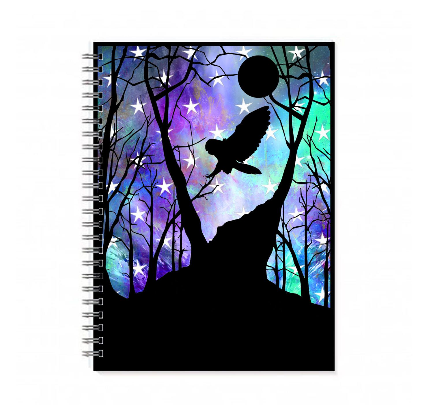 This Is A 100 Sheet (200 Page) Spiral Bound Notebook