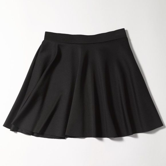 Frenchi Skater Skirt NWT black Frenchi Skater skirt. Brand new, never worn. Frenchi Skirts Circle & Skater