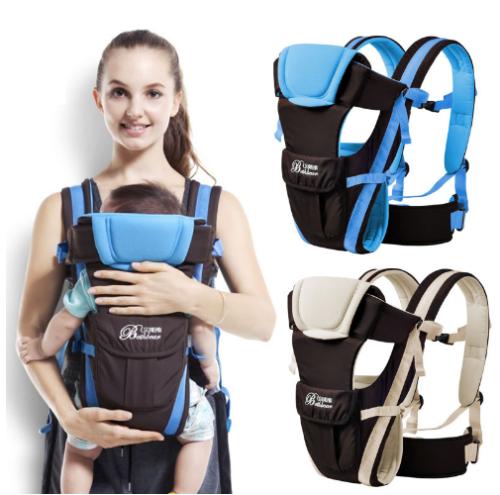 2ebb0e296c3 Newborn-Infant-Baby-Carrier-Breathable-Ergonomic-Adjustable-Wrap-Sling- Backpack
