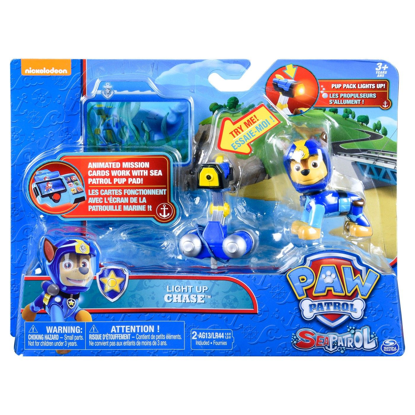 Quatang Gallery- Paw Patrol Sea Patrol Light Up Chase With Pup Pack And Mission Card Sea Light Paw Paw Patrol Paw Patrol Toys Paw