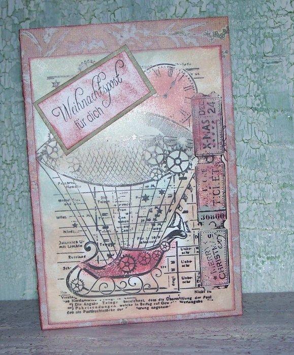 Steampunk Weihnachtskarten Pinterest Weihnachtskarten