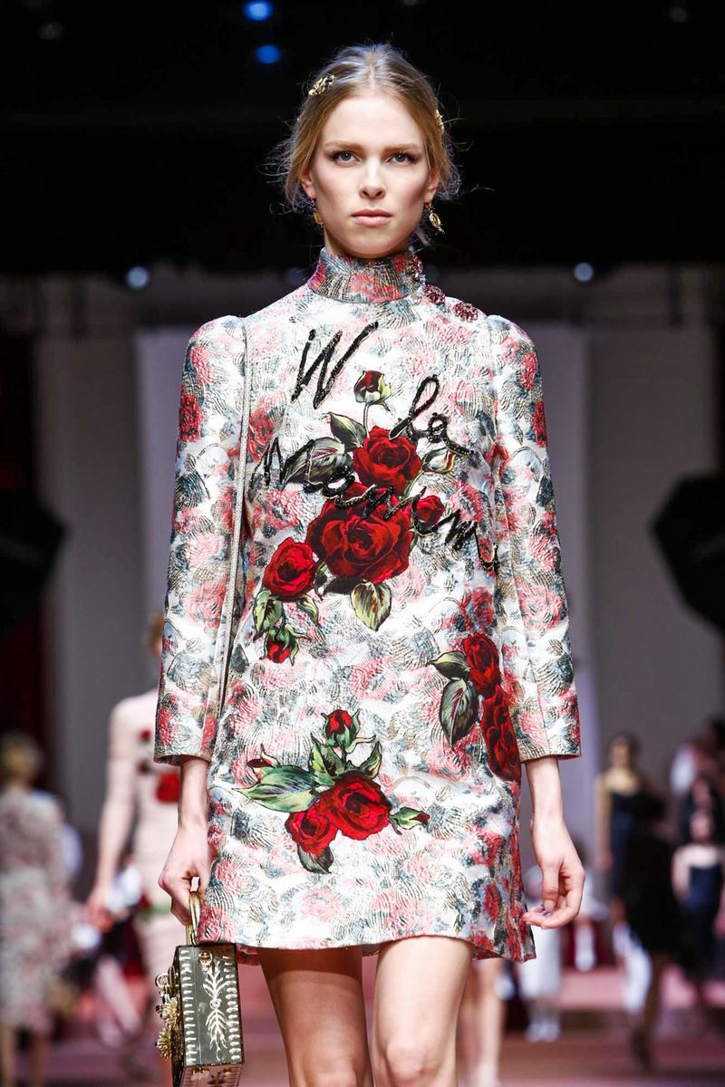 Dolce & Gabbana Ready To Wear Fall Winter 2015 Milan - NOWFASHION