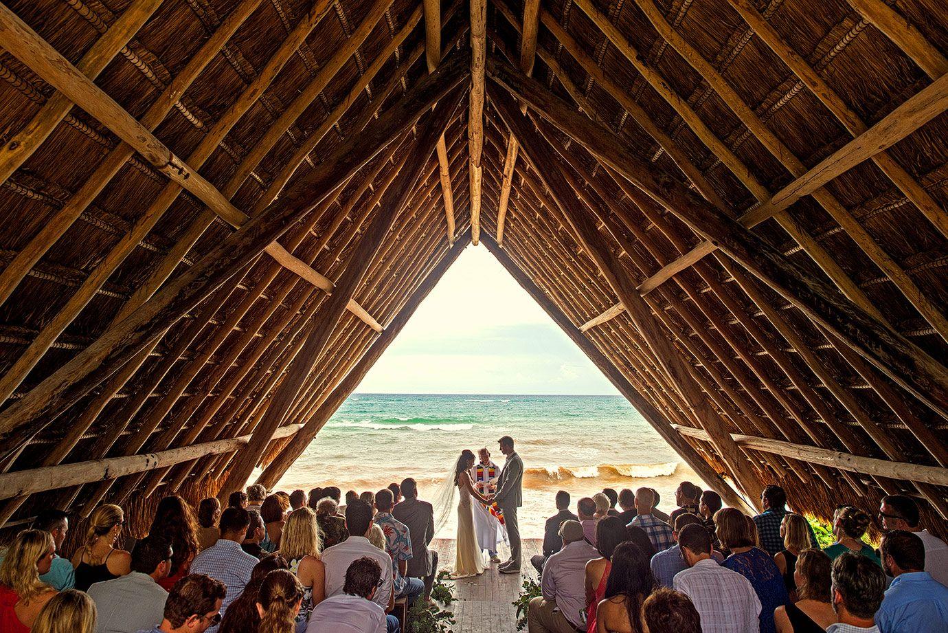 Aly Nathan Papaya Playa Wedding Tulum Mexico