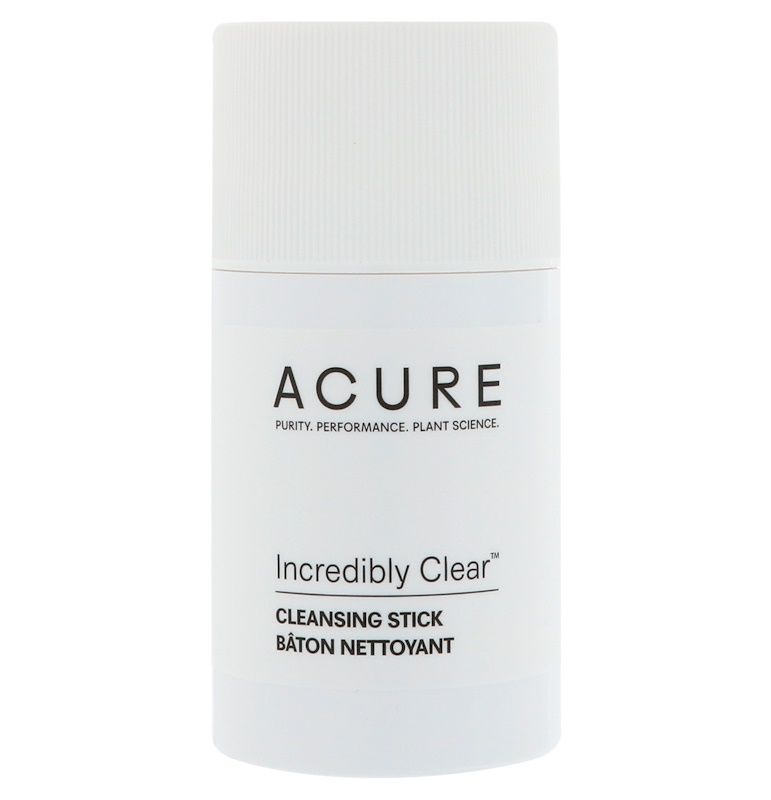 Acure, Incredibly Clear Cleansing Stick, 2 Oz (57 G