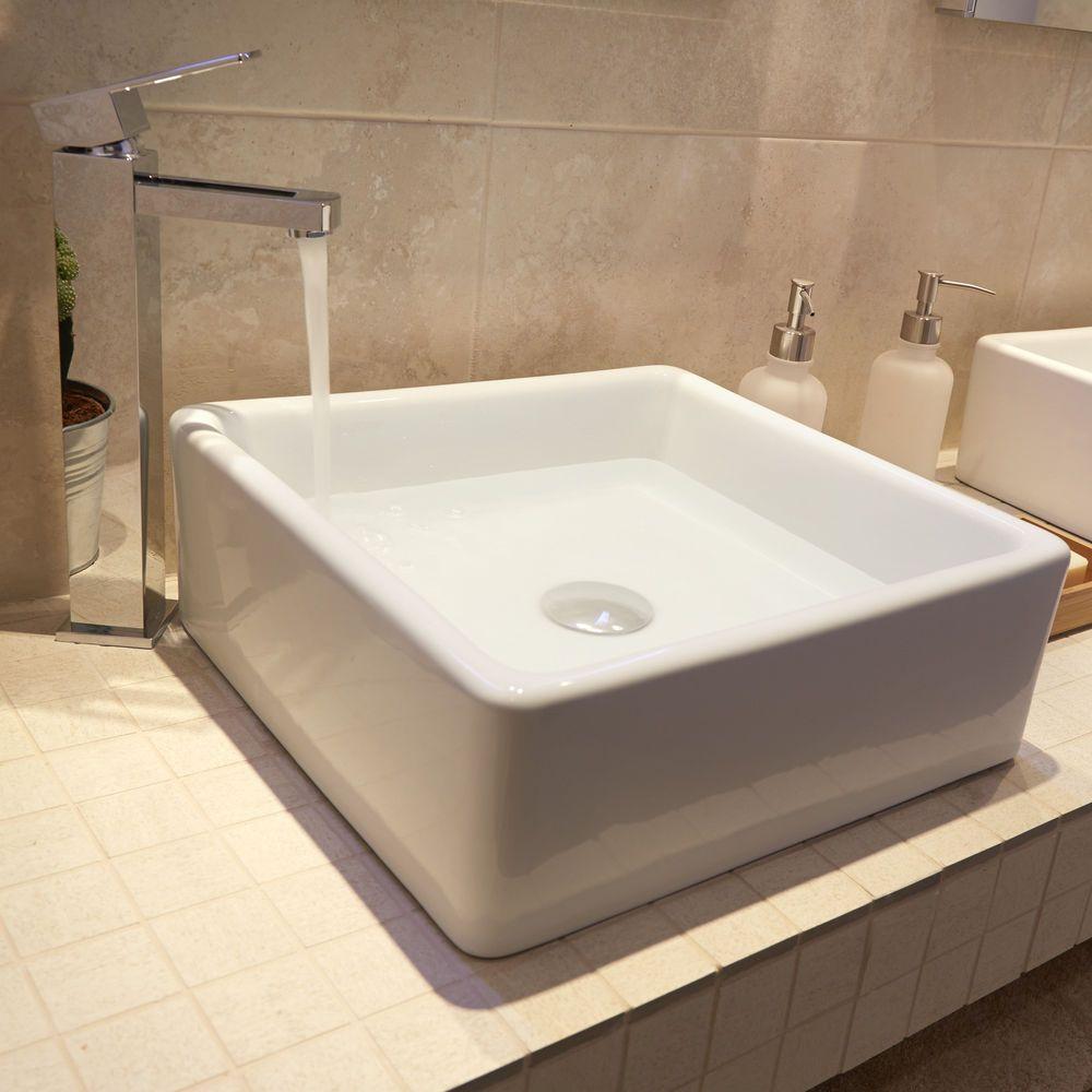 Image Result for Square Sink Bathroom Home Rennovations