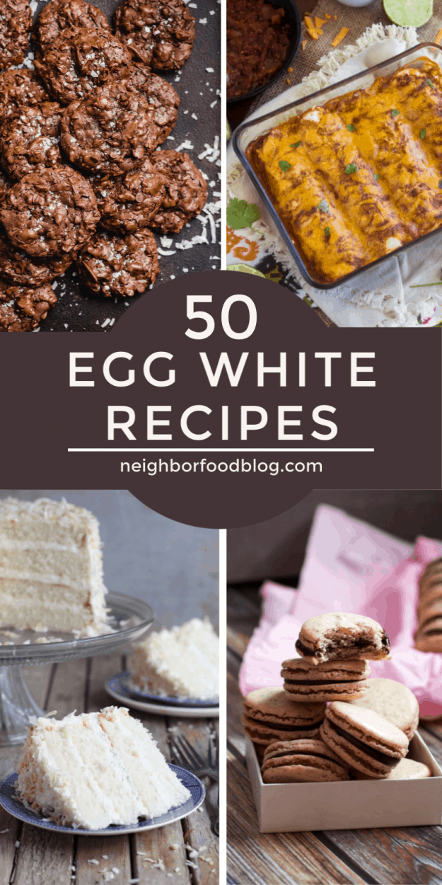 This Collection Of Egg White Recipes Is Perfect For Using Up Leftover Egg Whites It Includes Egg White Recipes Leftover Egg Whites Leftover Egg Whites Recipes