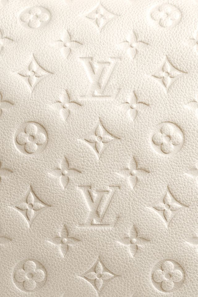 Louis Vuitton LV classic monogram textured leather white iphone wallpaper phone background lock screen