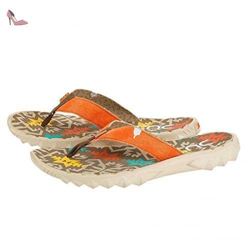 3880833e3d14 Dude Shoes Sava Incas Rust Canvas Flip Flop 42 3 - Chaussures dude shoes (