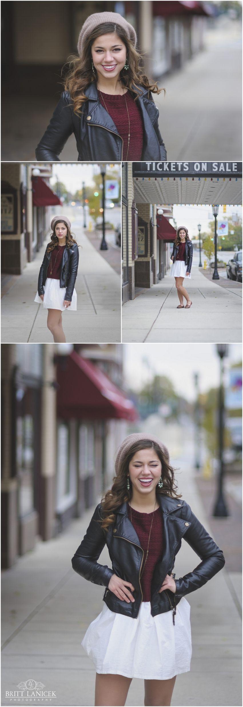 Modern Senior Pictures | Downtown Senior Portraits | Custom Senior Pictures by Britt Lanicek Photography in Tiffin, Ohio. http://www.brittlanicekphotography.com