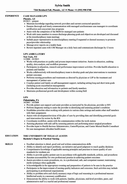 lpn resume template free unique 11 12 lpn nursing resume