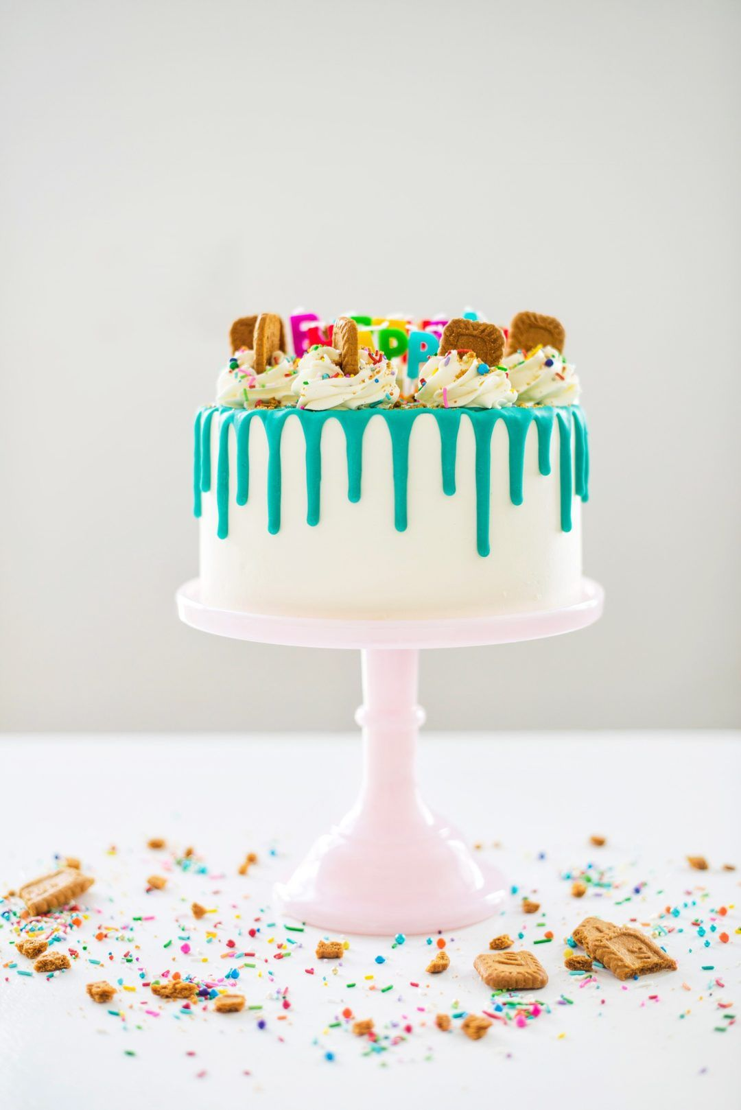 How To Make The Perfect Birthday Cake With Images Biscoff Cake