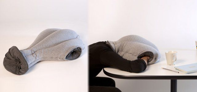 Ostrich Pillow Lets You Sleep At Your Desk