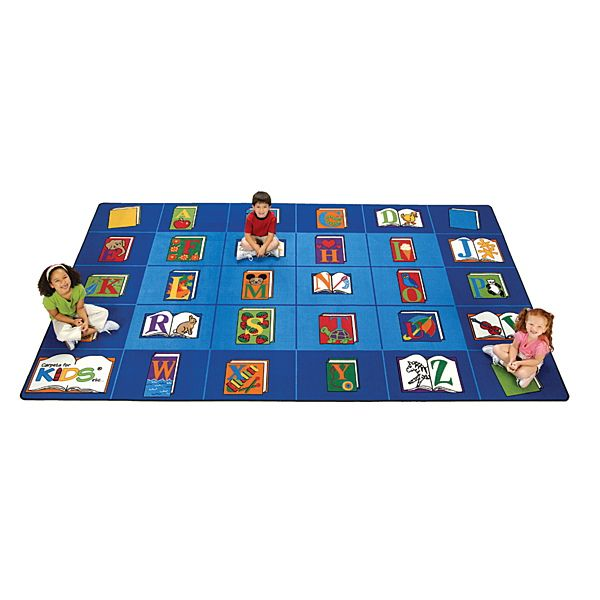 Demco Carpets For Kids Reading By The Book 512 13 X